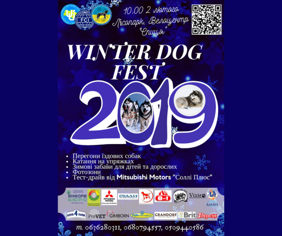 Зимняя гонка на ездовых собаках Winter Dog Fest - 2019