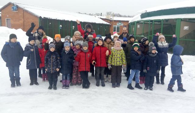 """КП """"Центр обращения с животными"""" провело экскурсии для более 1500 школьников"""