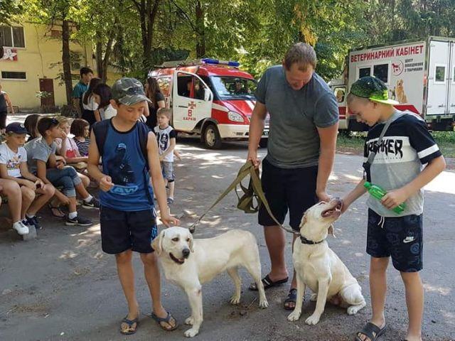 Уроки доброты в Парке Маяковского