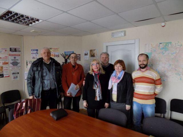 Гости с Винницы интересовались колумбарием для животных в Харькове