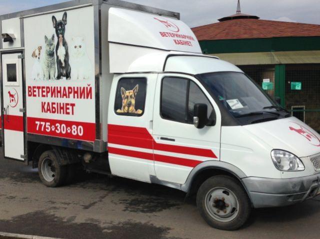В Харькове появились первые в Украине мобильные ветеринарные кабинеты
