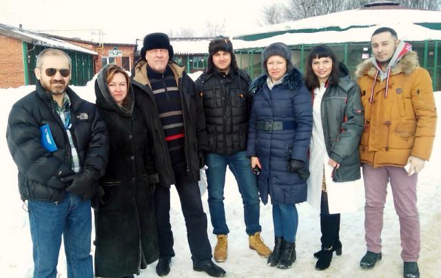 Харьковских собак показали европейцам