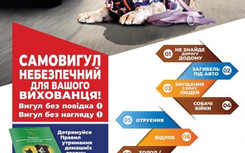 """КП """"Центр обращения с животными"""" продолжает проводить информационно - просветительскую работу"""