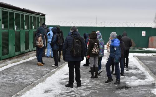 В Харьковском центре содержания бездомных животных состоялся праздничный День открытых дверей