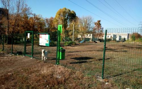 В Харькове стало еще больше оборудованных площадок для выгула и дрессировки собак
