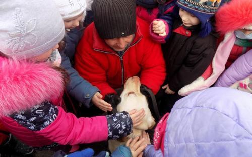 Ученики 18 городской школы побывали с экскурсией в Центре обращения с животными