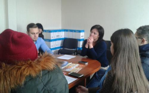 Центр обращения с животными посетили ребята из Молодежного совета при Харьковском городском голове