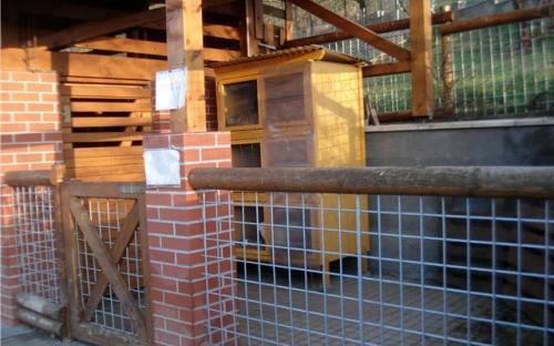 Место для содержания кролей и подобных им животных