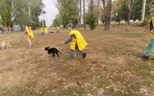 """В КП """"Центр обращения с животными"""" провели первую в новом учебном году экскурсию для школьников"""