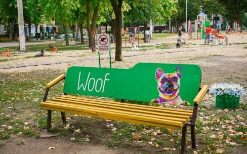 Граффити о животных нарисовали в pet-friendly дворе по ул. Библика, 1а