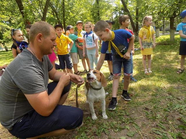 Воспитываем в детях осознанную любовь к собакам или как в Харькове проходит «Марафон добра»