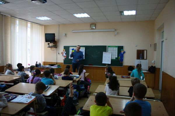 Educational work animal care center in Kharkiv
