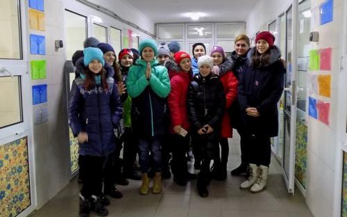 Ученики 135 харьковской школы побывали в гостях в Центре обращения с животными.