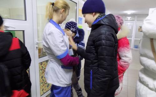 Ученики 77 харьковской школы посетили Центр обращения с животными на осенних каникулах