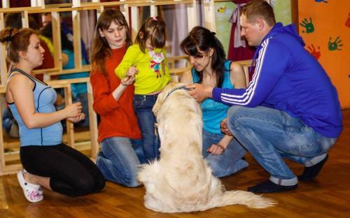 Канистерапия КП Центр обращения с животными Харьков