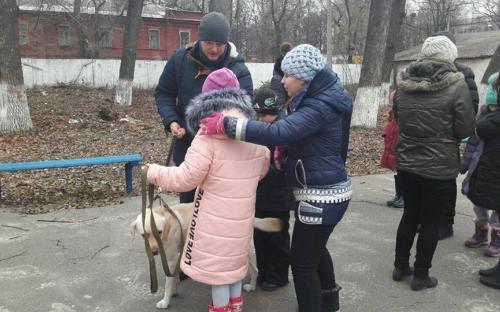 "Презентация проекта ""Кураторство"" в лицее имени Короленко"